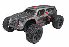 1/10 Brush 4WD Redcat Silver RC SUV Truck Blackout XTE Waterproof Electrics