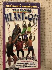 Richard Simmons Disco Blast-Off VHS - RARE! New In Original Packaging