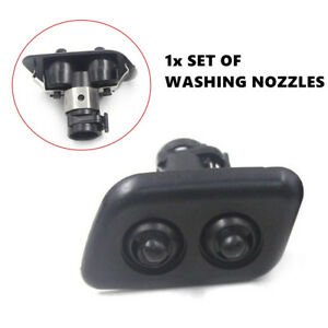 2X Original Auto Washer Nozzle Spray Xenon Headlights Cleaning Fit For BMW 3/5er