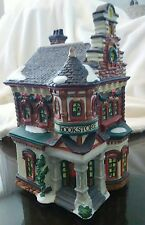 Christmas Village Bookstore
