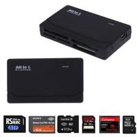 All in One 1 Memory Card Reader USB External Micro SD SDHC M2 SDXC MS MS Duo