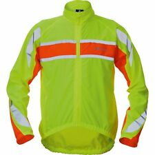 NEW POLARIS RBS WINDPROOF BREATHABLE HIGHLY VISIBLE FLUO CYCLE JACKET