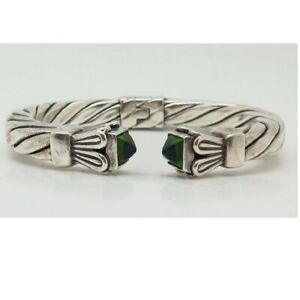 925 sterling silver payrite peridot bracelet handcrafted jewellery gift for grandmaa