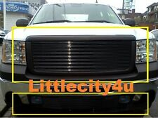 For 07 08 09 10 11 12 13 GMC Sierra 1500 Black Color Grille Grill Combo Insert