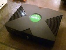 Original Xbox hard modded Xecuter 2 unleashX coinops 17k retro nes snes 250gb