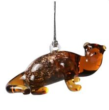 River Otter Art Glass Ornament Dynasty Gallery Glassdelights Collectible