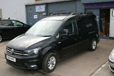 VW CADDY MAXI onwards 2004 STYLISH DESIGN ALUMINIUM ROOF RAIL BARS RACKS BLACK