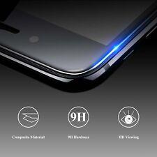 PANZER GLAS FOLIE Display Schutz für Apple iPhone X Schwarz 3D Curved 9H