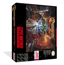 Dungeon master SNES Replacement Game Case Box + Cover(No Game)