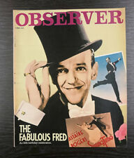Observer Magazine: Fred Astaire's 80th Birthday, 6th May 1979