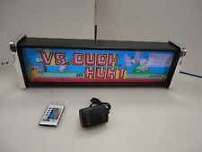 Nintendo Duck Hunt Marquee Game/Rec Room LED Display light box