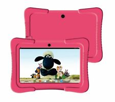 "KIDS 7"" TABLET FAST BTC® FLAME WIFI ANDROID BLUETOOTH 8GB - BUNDLE BUMPER CASE"