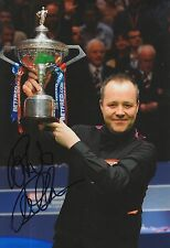 John Higgins Hand Signed Snooker 12x8 Photo Legend 2.