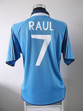 Raul #7 Camiseta Jersey Real Madrid Alternativa de fútbol 1999/2000 (L)