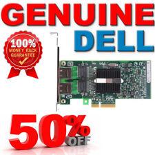 DELL X3959 INTEL Pro/1000 Pt Double Port Gigabit NIC PCI-E Carte D33682 D29083-002