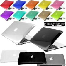 Cristal Brillo Transparente Funda Rígida Funda para IPHONE Macbook pro Retina
