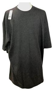 BIG and TALL T-Shirt Men's PLAIN T SHIRT HEAVYWEIGHT Shirts Short Sleeve Tee