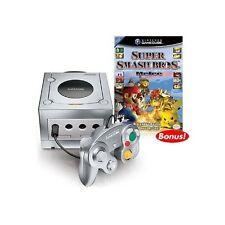 Platinum Nintendo GameCube Super Smash Bros Melee Bundle Very Good 7Z