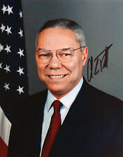 Colin Powell Autogramm U.S.A. Politiker Autograph US Army