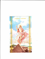 1 card Lithuanian Easter Greeting Card 937B Jesus has risen