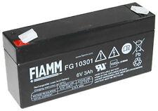 Fiamm FG10301 6V 3000mAh Faston 4,8mm LC-R063R4P Dryfit A506/3.5S NP3-6