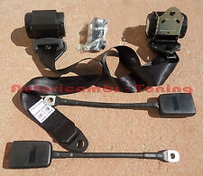 BELTS SAFETY AUTOMATIC BLACK FIAT 500 - 126 VARIOUS CAR OLD