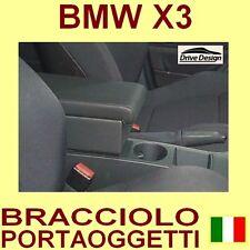 BMW X3 - BRACCIOLO CON PORTAOGGETTI per-vedi nostri tappeti auto gomma e velluto