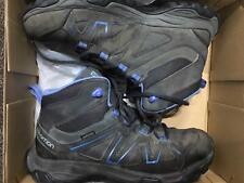 Salomon Tibai Mid GTX Boots  womens UK 6.5 Magnet/Phantom/Blue Fast Dellivery