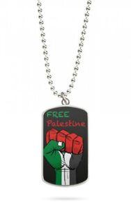 Kette Dog Tag Anhänger Palästina Gaza 4