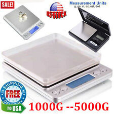 New Digital Kitchen Food Cooking Scale Weigh in Pounds, Grams, Ounces, and KG US