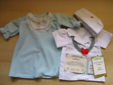 """15"""" Madeline Soft Plush Doll Doctor outfit and Nightie or Pajama"""