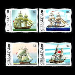 "Gibraltar 2006 - gibraltar Packet Agency ""Sailing Ships"" - Sc 1044/7 MNH"