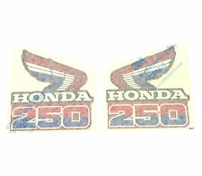 Radiator Shroud Decals ✰ 1985 Honda CR250R CR250 CR 250 Motocross ✰ off road ✰