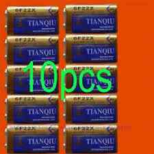 10 × 9V 6F22 TIANQIU Zinc Carbon Primary Battery Brand New Factory Direct Bulk