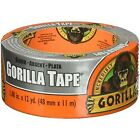 Gorilla Silver Tape 1.88in x 12 Yards