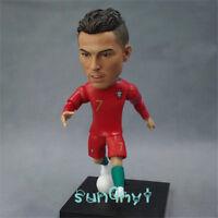 Cristiano Ronaldo dos Santos Aveiro Action Figure Statue Football Souvenir 4.8''