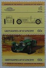 1931 INVICTA 4.5 LITRE Car Stamps (Leaders of the World / Auto 100)