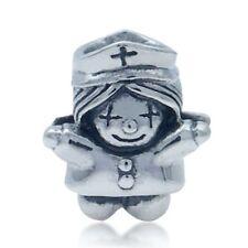 AUTH Nagara 925 Sterling Silver NURSE European Charm Bead