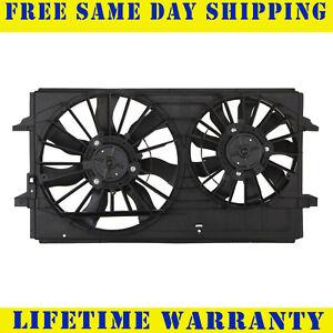 Radiator And Condenser Fan For Chevrolet Malibu Pontiac G6 GM3115178