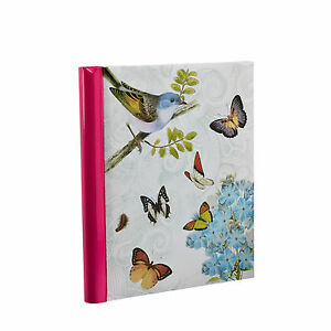 Large Self Adhesive Vintage Butterfly Photo Album 40 Sides For Ideal Gift -BB40