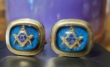 Men's Vintage Masonic Cufflinks by Hayward 1/20 12k Gold Filled