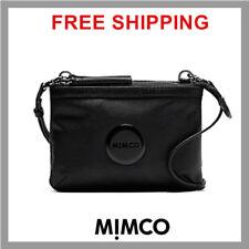 MIMCO SECRET COUCH Hip Bag BLACK Leather MATTE Black Logo Authentic BNWT DF