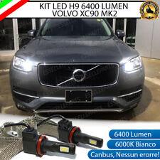 KIT H9 LED CANBUS ABBAGLIANTI VOLVO XC90 MK2 XENON 6000K 6400 LUMEN NO ERROR