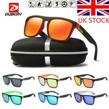 Polarized Sunglasses Men Women Square Cycling Sport Driving UV400 UK SHIP