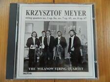 Streichquartette 2, 3, 10 Wilanow Quartett Krzysztof Meyer