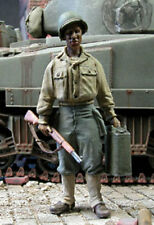 1/35 Scale WW2 US African American soldier carrying a jerrycan