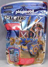 Playmobil pirates 6164 bleue App-CANON avec les pirates-Officier Pirate armes NEUF