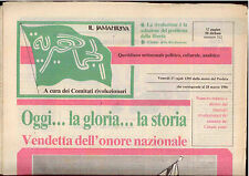 L8  IL JAMAHIRIYA N. 312 DEL 28 MARZO 1986
