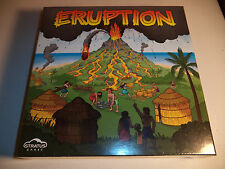 ERUPTION Board Game by Stratus Games SEALED NEW!!