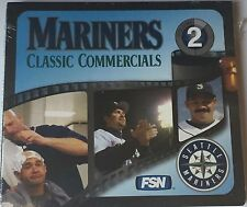 Mariners Classic Commercial Volume 2 DVD. Brand New/Sealed!